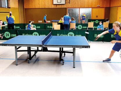 TSG Wolpertshausen Tischtennis startet erfolgreich in die Kreisliga!