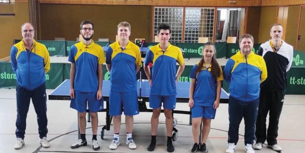 3x Tabellenführung für die Tischtennisabteilung!