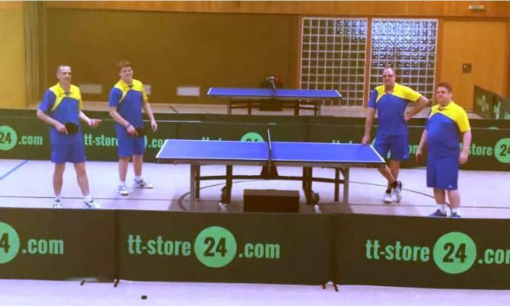 Tischtennis-Herren gewinnen erste Heimbegegnung mit 9:1