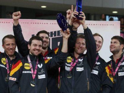 Deutsche Tischtennis-Herren gewinnen Team-EM