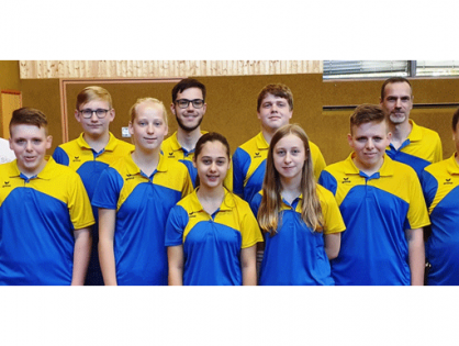 TSG Tischtennis Mädchen gewinnen mit 10:0