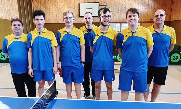 TSG Tischtennis Jungen erstürmen Platz 1 in der Kreisliga