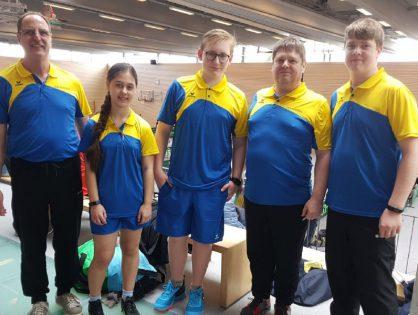 TSG Tischtennis debütiert mit Erfolg beim ersten Turnier